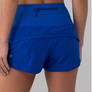NWOT Lululemon speed up short 2.5""